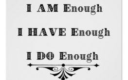 Its enough